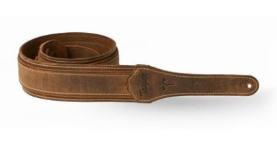 Taylor Wings Strap, Dark Brown Leather 2.5""