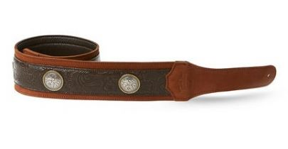 Taylor Grand Pacific Strap, Brown Leather 3""
