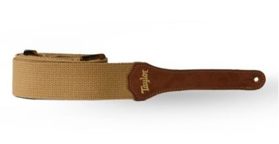 Taylor Strap, Tan Cotton 2""