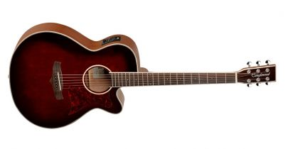 Tanglewood Super Folk TW4 WB, Whiskey Barrel Gloss