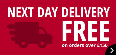 Next Day Delivery Free on orders over £150